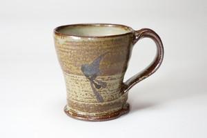 マグカップ(灰釉鉄絵)