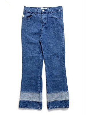 SWITCHING FLARE JEANS W70CM