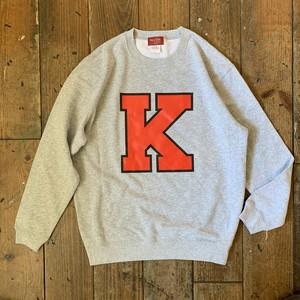 """""""K"""" Lettered CREW NECK"""