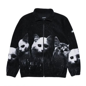 RIPNDIP - Field Of Cats Sherpa Jacket (Black)