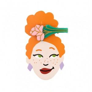 Coucou Suzette Tulips hair clip