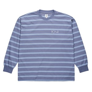 POLAR SKATE CO. 91 LONGSLEEVE SKY BLUE M ポーラー ボーダー シャツ