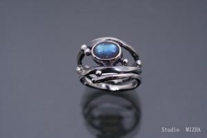 無骨なリング(金工の指飾りmr21605)