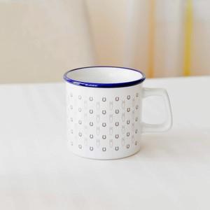 ウマグカップ(受注生産・ブルー&ホワイト)