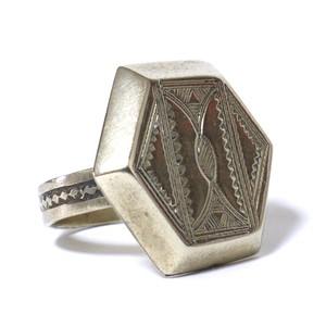 African Tuareg Silver Ring