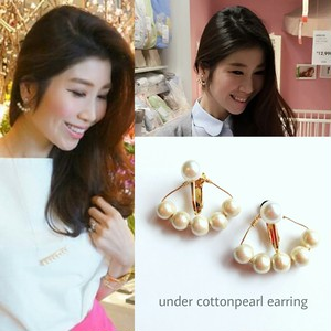 under cottonpearl earnings&pieces(6㎜パール)