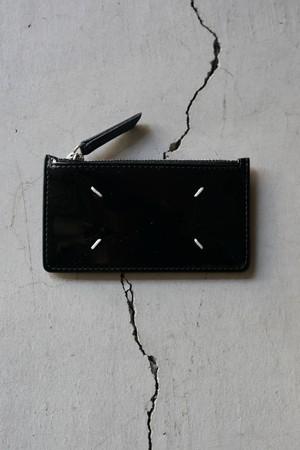 Maison Margiela /   Patent punch button patent (Black)