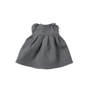 RIVERBED DRESS FOR DOLLS(ブルーグレー)|ぬいぐるみと人形の服