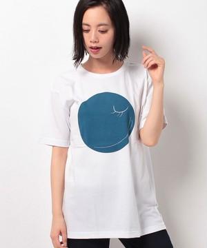 #350 Tシャツ INDIGO SMILE 0