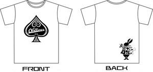 OLTONトランプTシャツ (WHITE)