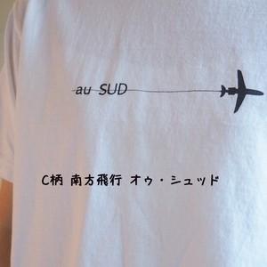 20周年記念リバイバルロゴ Tシャツ BIG-T C柄 オゥ・シュッド  12C53 サイズ2