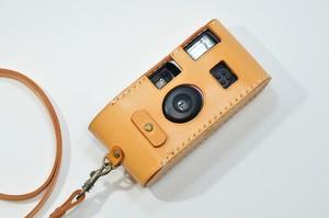 ヌメ革「写ルンです」カメラケースⅡ型