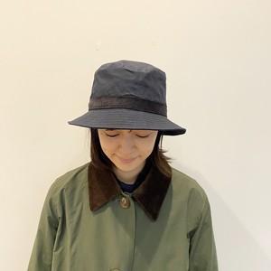 G120012【cableami】PARAFFINE WEATHER BUCKET HAT