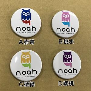 noahオリジナル缶バッチ