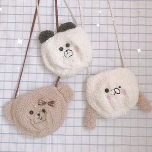 【バッグ】日系少女スウィート動物柄キュートショルダーバッグ