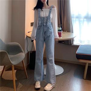 【bottoms】 ハイウエストファッション人気デニムパンツ27136624