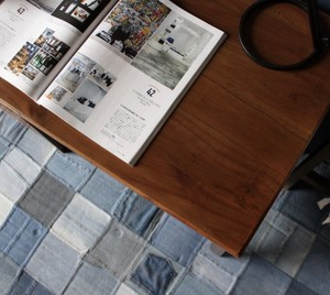 Mindy Wood Desk  / 北欧アンティークスタイル 木製 デスク