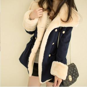 【アウター】寒さ対策スタイリッシュ厚い保温ゆったりコート