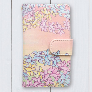 Hawaiianpaint KAN 手帳型 iPhone case[iPhone7 / iPhone7 Plus / X]