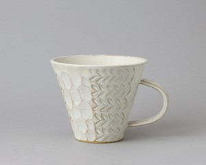 マグカップ - 白 | 小鯖美保子