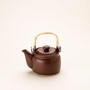 けんこう土瓶 小サイズ 茶色
