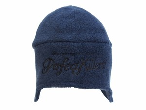 "FLEECE 2WAY CAP ""PS LOGO""  NAVY  18AW-FS-59"