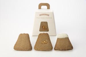フジヤマクッキー3枚入り30箱セット(バニラ・紅茶・ストロベリー・抹茶・ショコラ…各6箱)