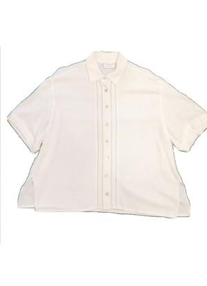 Euro Vintage White shirt 半袖 BL14