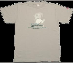 オリジナルTシャツ TYPE.04-A(シルバーグレー)
