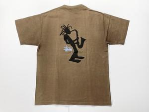 90s STUSSY オールドステューシー 紺タグ USA製 Tシャツ L