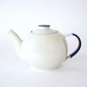 Manses Design OVANAKER TeaPot (Blue Line)1300ml ティーポット 磁器 北欧 スウェーデン 自然 ナチュラル デザイナーズ ブランド シンプル スタイリッシュ 食器 テーブルウェア プレゼント ギフト 引っ越し お祝い