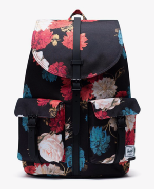HERSCHEL ハーシェル Dawson Backpack Vintage Floral Black