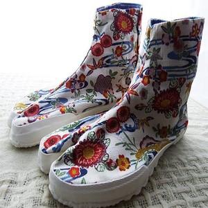レディースファッション地下足袋 和柄足袋 #1