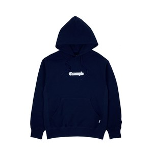 EXAMPLE EMBROIDERY OE LOGO HOODIE / NAVY