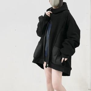 Dolman-Hoodie (black)