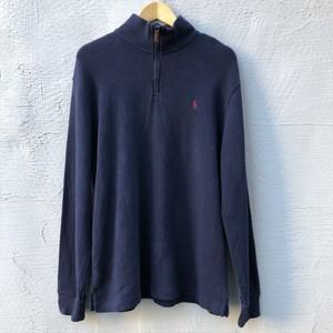 USED Polo Ralph Lauren Half Zip Sweat(L)