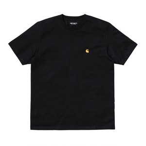 Carhartt (カーハート) S/S CHASE T-SHIRT - Black / Gold M