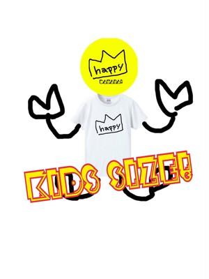 キッズサイズ HAPPYキングTシャツ