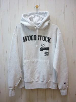 """WOODSTOCK"" P/O Parka Champion Reverse Weave 12oz. (ウッドストック プルオーバーパーカ チャンピオン リバースウィーブ 12オンス)"