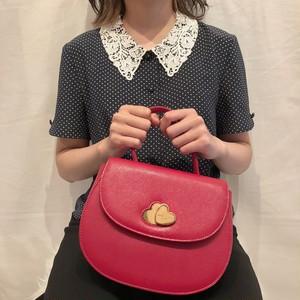 dot lace color blouse