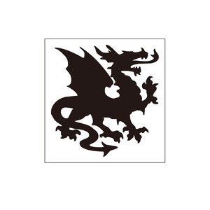 紋章ステッカー ドラゴン