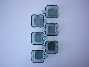 Stacking Glass Ash Tray by Wilhelm Wagenfeld for WMF