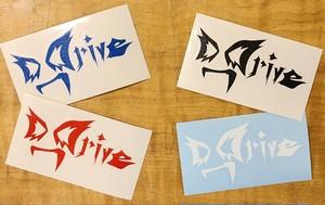D_Driveチームステッカー(ミニサイズ4色セット)