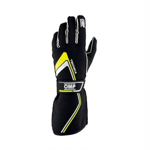 IB/772/NGI TECNICA GLOVES MY2021 Black/fluo yellow