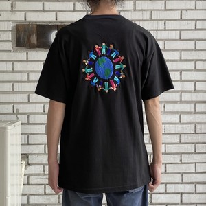 00's USED EMBROIDERY TEE