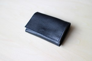 PLAY WALLET - LEATHER[NAVY]