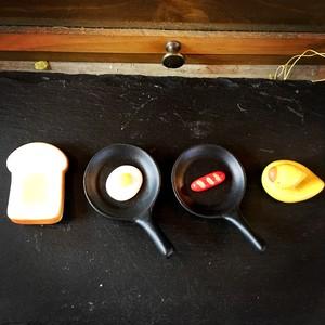 箸置き 食パン ミニフライパン アヒル