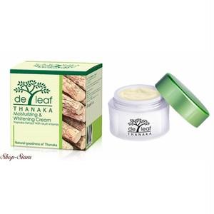 de leaf タナカ モイスチャライジング&ホワイトニング クリーム/Thanaka Moisturizing & Whitening Cream 45ml