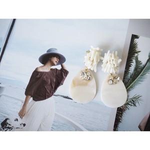 《restock》coral [white]