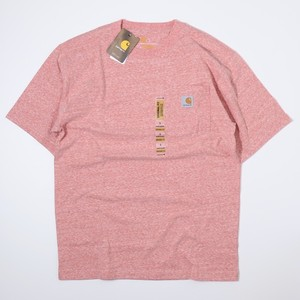 Carhartt USA s/s T-shirts (HEATHER PINK) カーハート Tシャツ A744